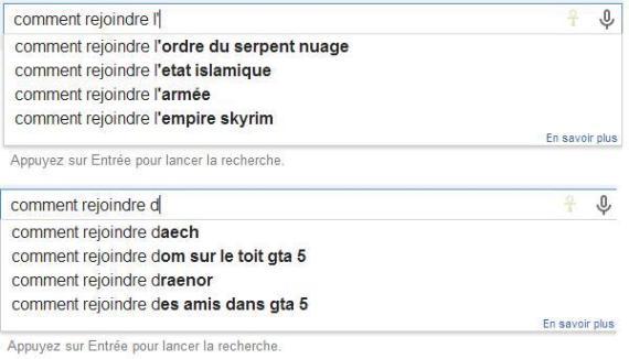 google daech