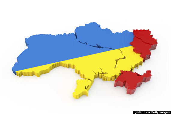 ukraine map donetsk luhansk