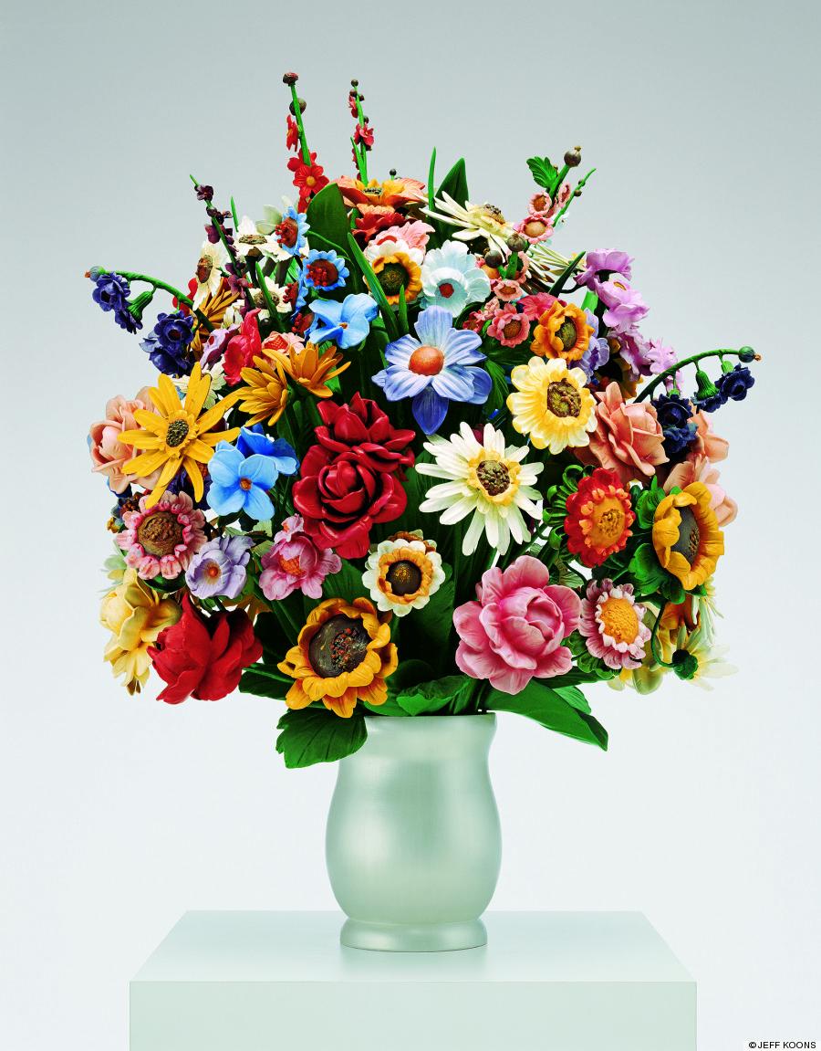 large vase of flower