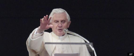 POPE BENEDICT LIBYA