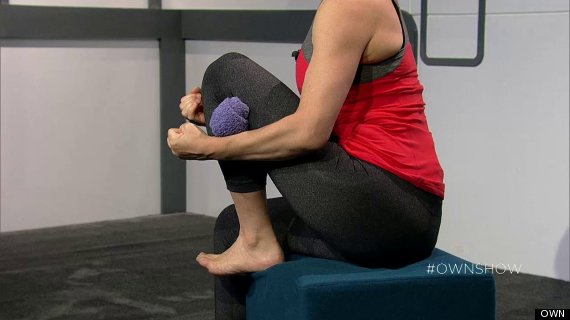 knee pain stretch jill miller