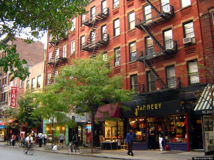 12 streets you need to know about in new york city huffpost for Manhattan west village apartments