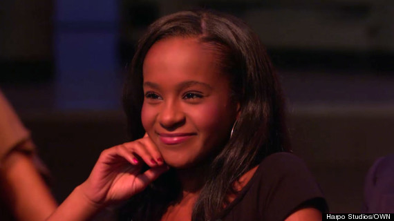 bobbi kristina brown on the oprah show in 2009