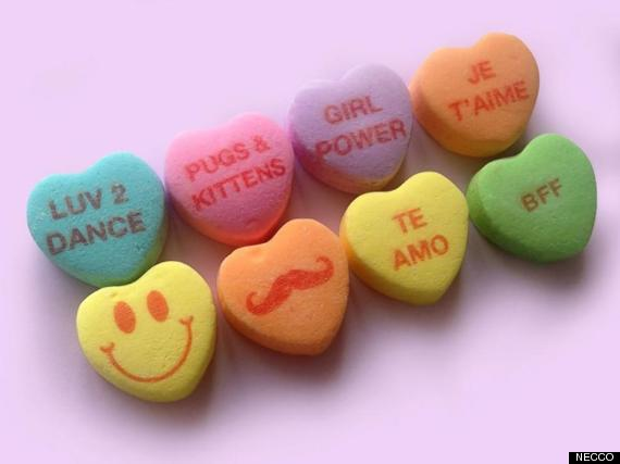 Image result for candy hearts