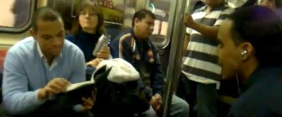 Coolest Guy To Ever Ride The Subway? (NSFW VIDEO)