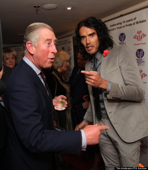 russell brand prince charles