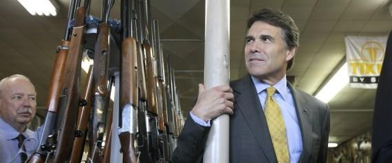 TEXAS GUNS RICK PERRY