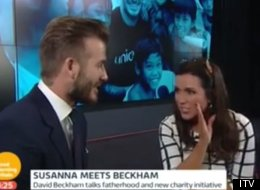 She's At It Again! Susanna Flirts Up A Storm With Becks