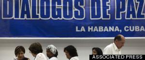 COLOMBIA NEGOTIATIONS HAVANA