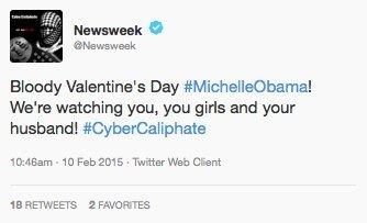 newsweek twitter hack