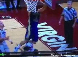 La canasta más sucia en la historia del baloncesto colegial (VIDEO)