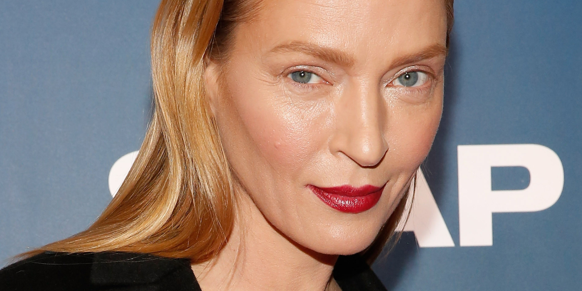 Uma Thurman Is Fresh-Faced And Gorgeous On The Red Carpet