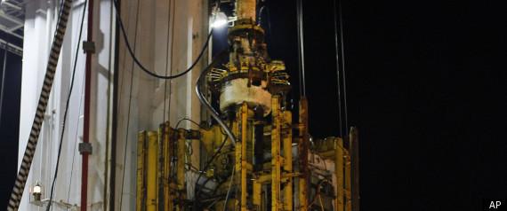 BP OIL SPILL BLOWOUT PREVENTER