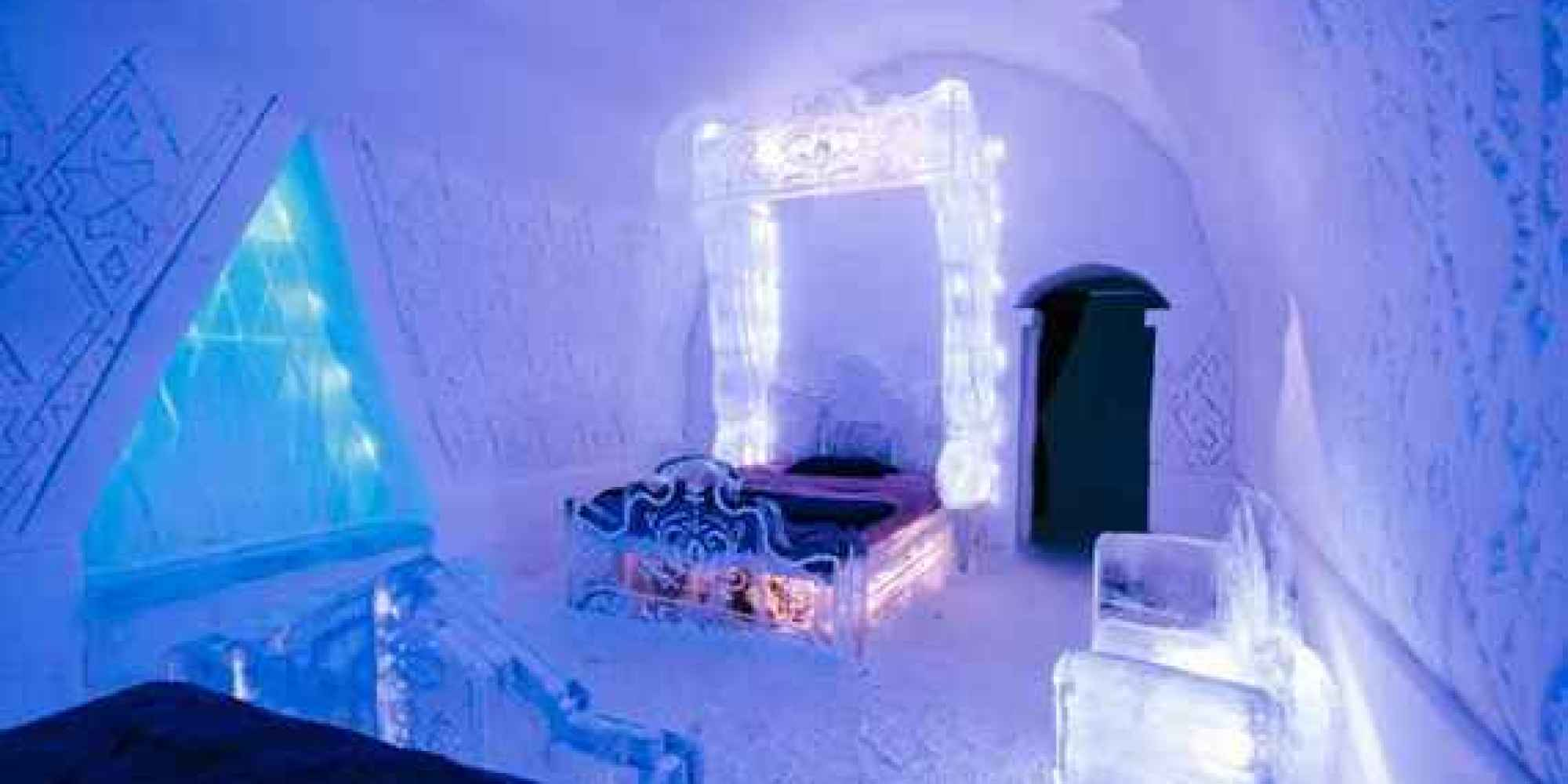 ice hotel quebec the greatest winter travel list of all time thrillist 11280