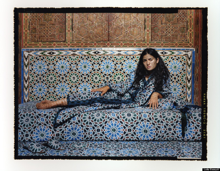 a essaydi Lalla essaydi is a new york-based artist who was born in morocco and spent  many years in saudi arabia in her work, she decorates her subjects with islamic .