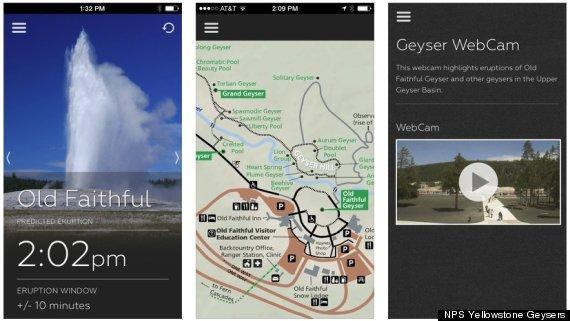geyser app screen