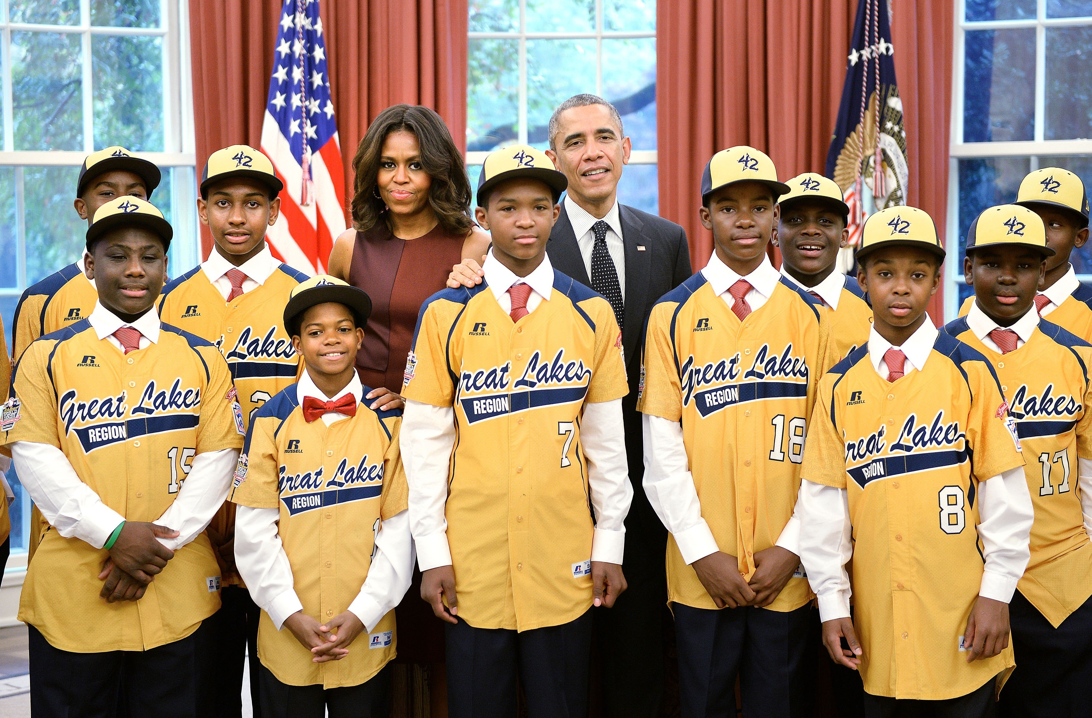 barack obama jackie robinson west