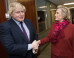Boris Johnson Meets 'Sadistic Nurse' Hillary Clinton Amid Questions Over Mayor's 'Promotional Tour'