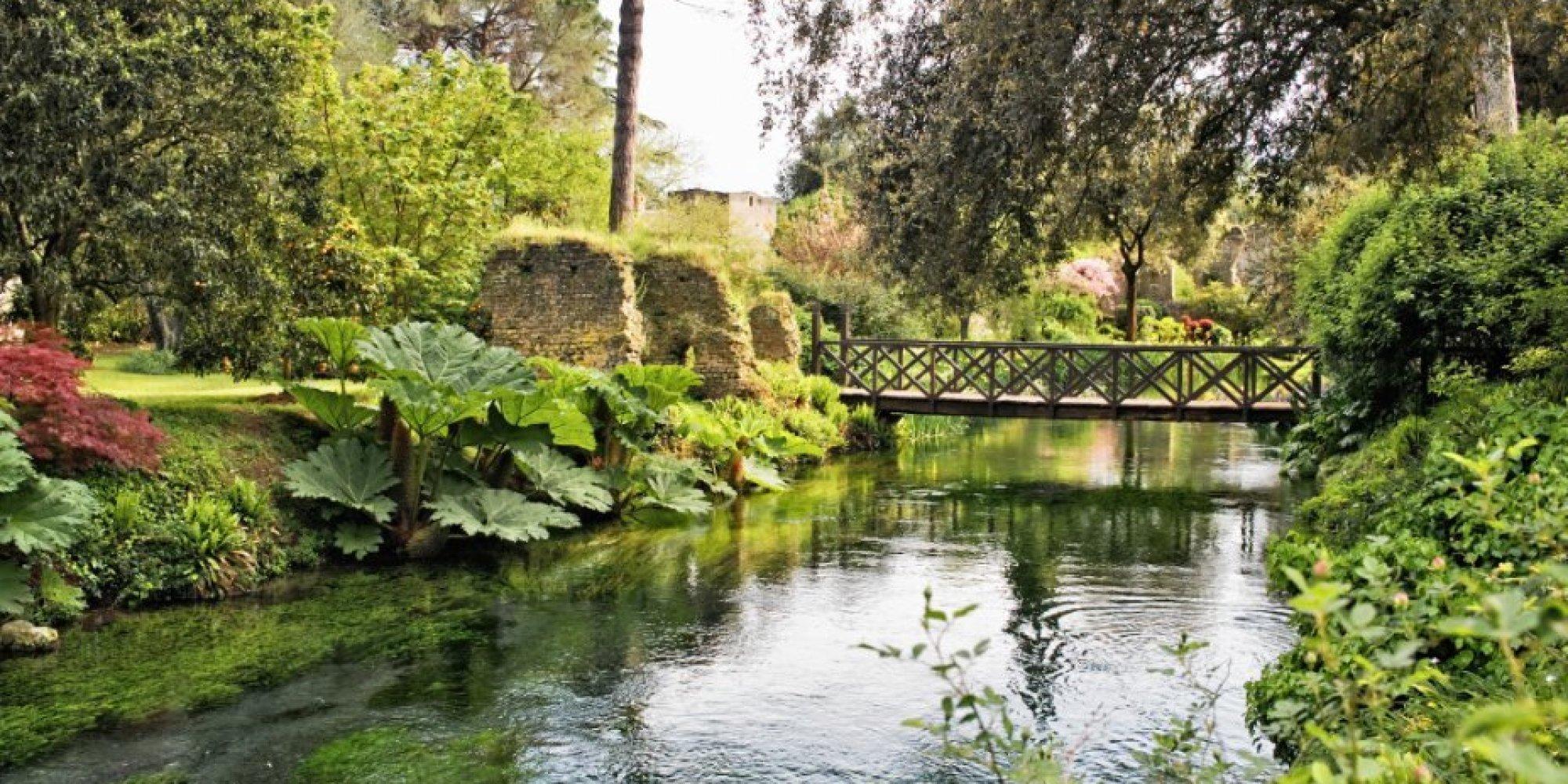 il giardino di ninfa un polmone verde che rapisce l 39 anima