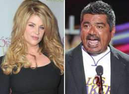 Kirstie Alley George Lopez