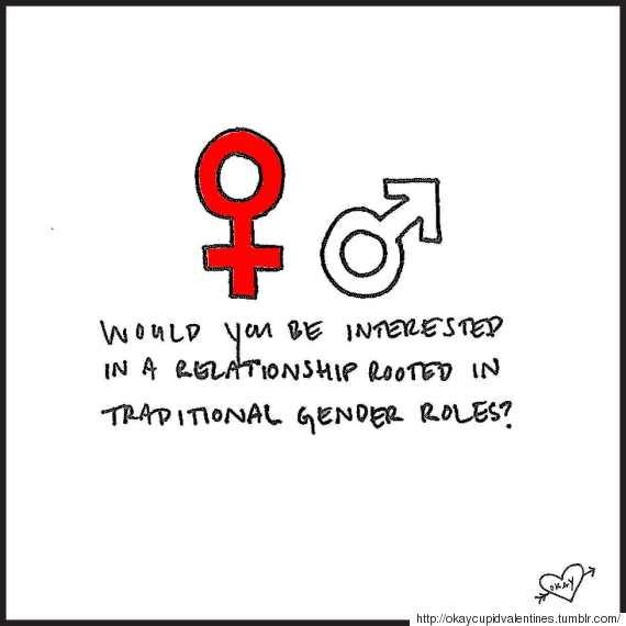 gender roles in online dating