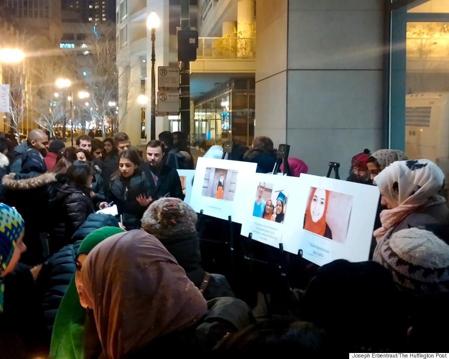 chicago vigil photos