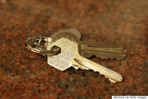 keys on surface