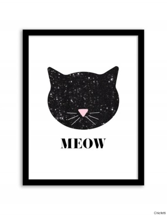 Worksheets For Cats Meow : Free prints to hang on your walls instead of pictures