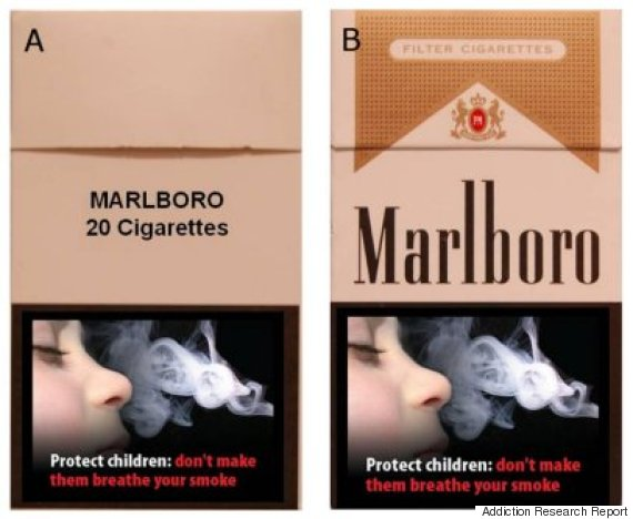 branded cigarettes