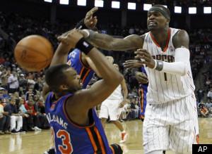 Bobcats Knicks
