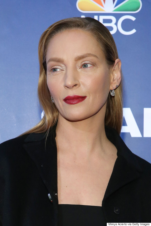Uma Thurman Explains Her 'Weird' New Look (And No, She Hasn't Had ...