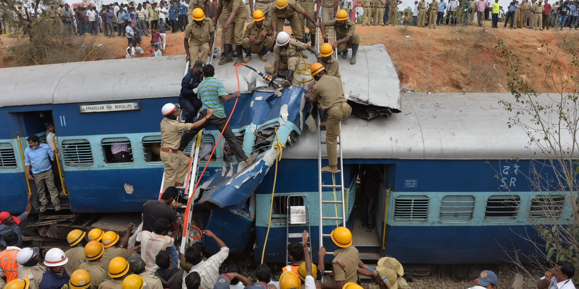 Eleven Passengers Killed In Train Accident In Karnataka  Indian Railway Accidents
