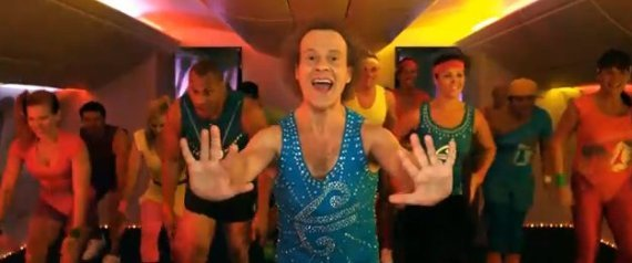 Richard Simmons Air New Zealand