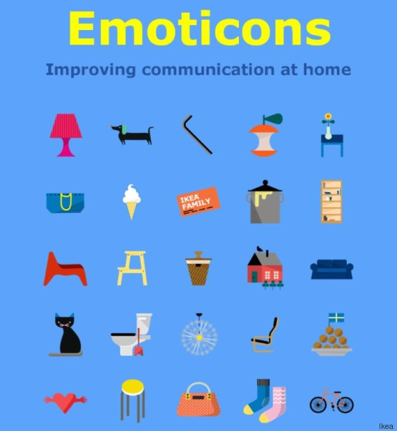 ikea emoticones