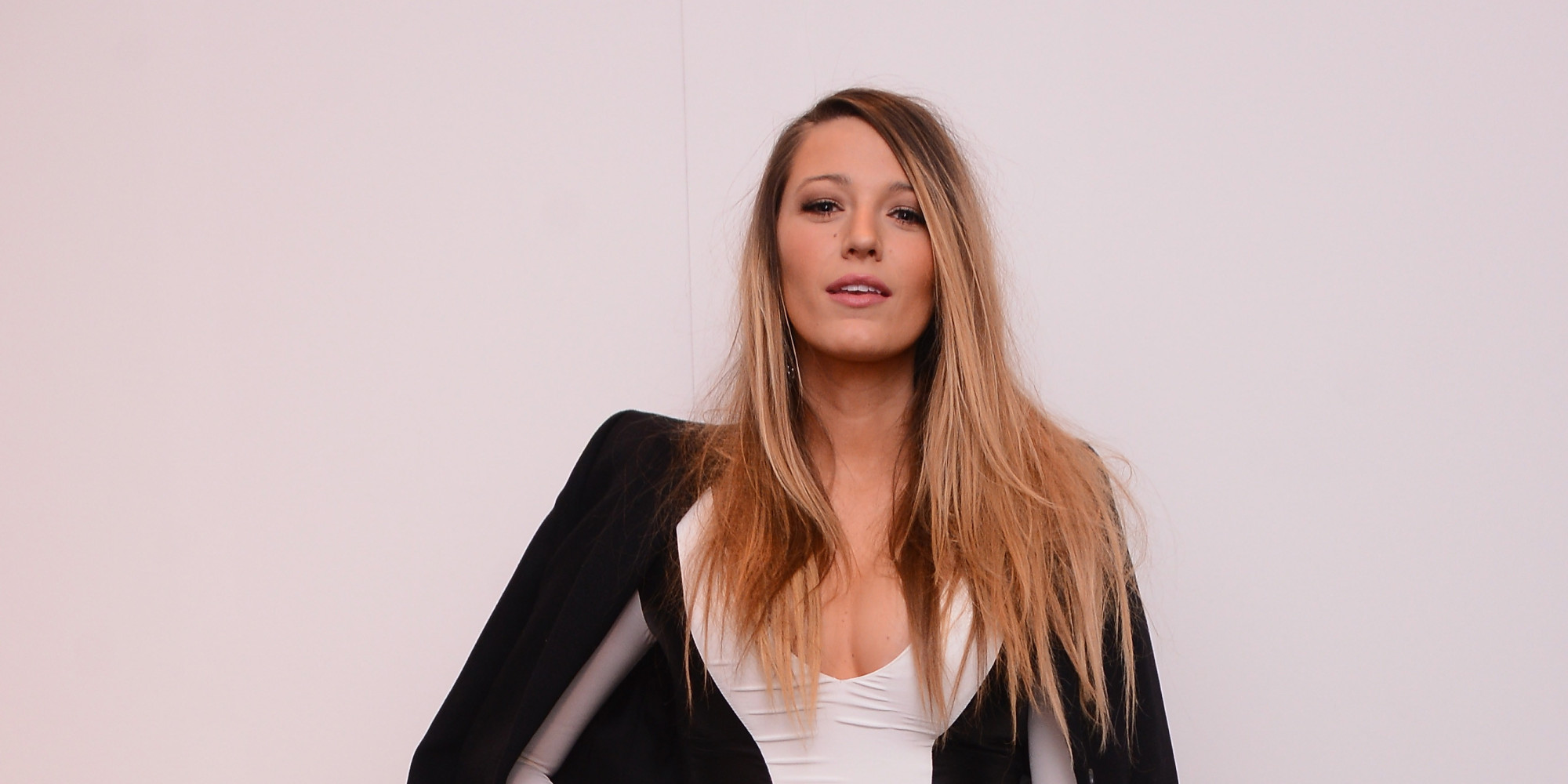 Blake Lively Cuts A Striking Figure In Bodycon Illusion ... Blake Lively Facebook