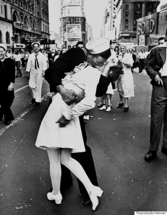 beijo marinheiro