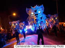 61e Carnaval de Québec: baisse d'achalandage