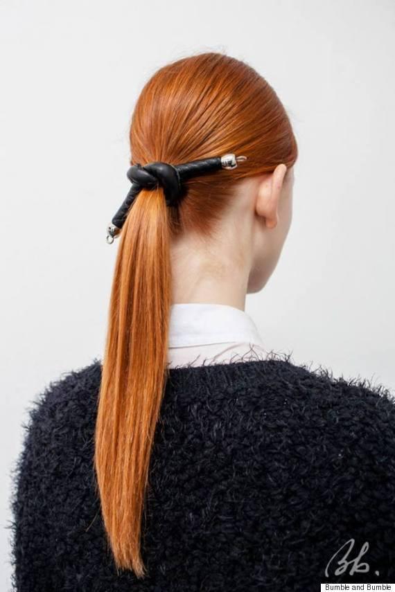 tanya taylor fall 2015 hair