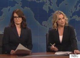 Tina Fey, Amy Poehler And Jane Curtin Return To 'Weekend Update' Desk