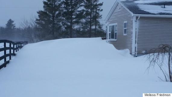 east gore nova scotia snow