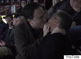 KISS CAM: '22 Minutes' Funnyman Smooches Ex-Newfoundland Premier