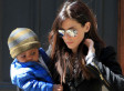 Sandra Bullock Steps Out With Baby Louis (PHOTOS)