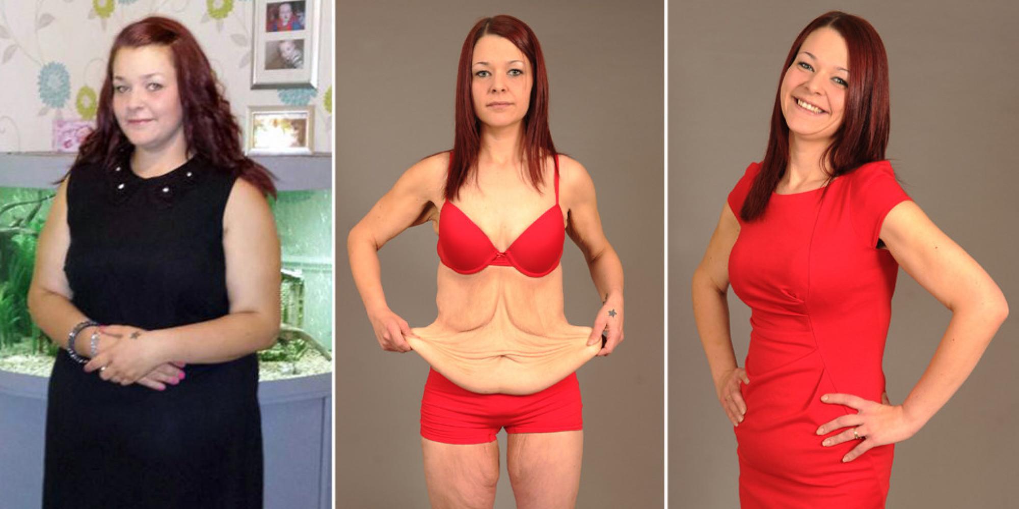 Как делают фото похудевших