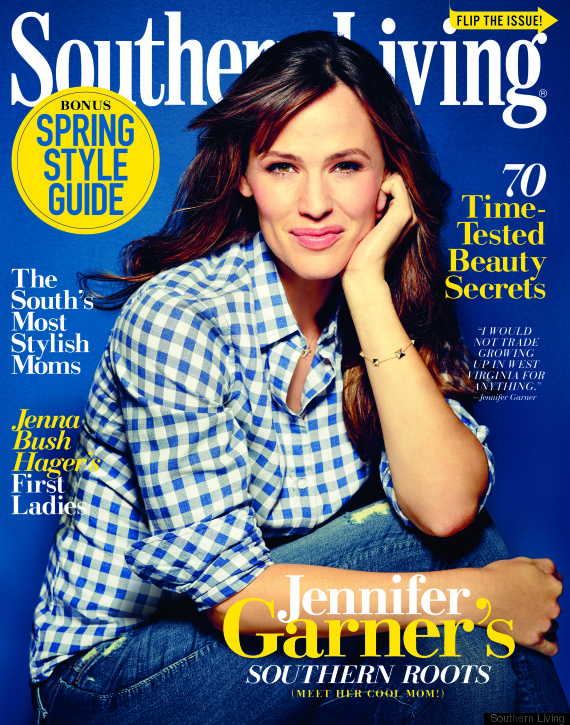 garner poses with her mom and sisters for southern living huffpost