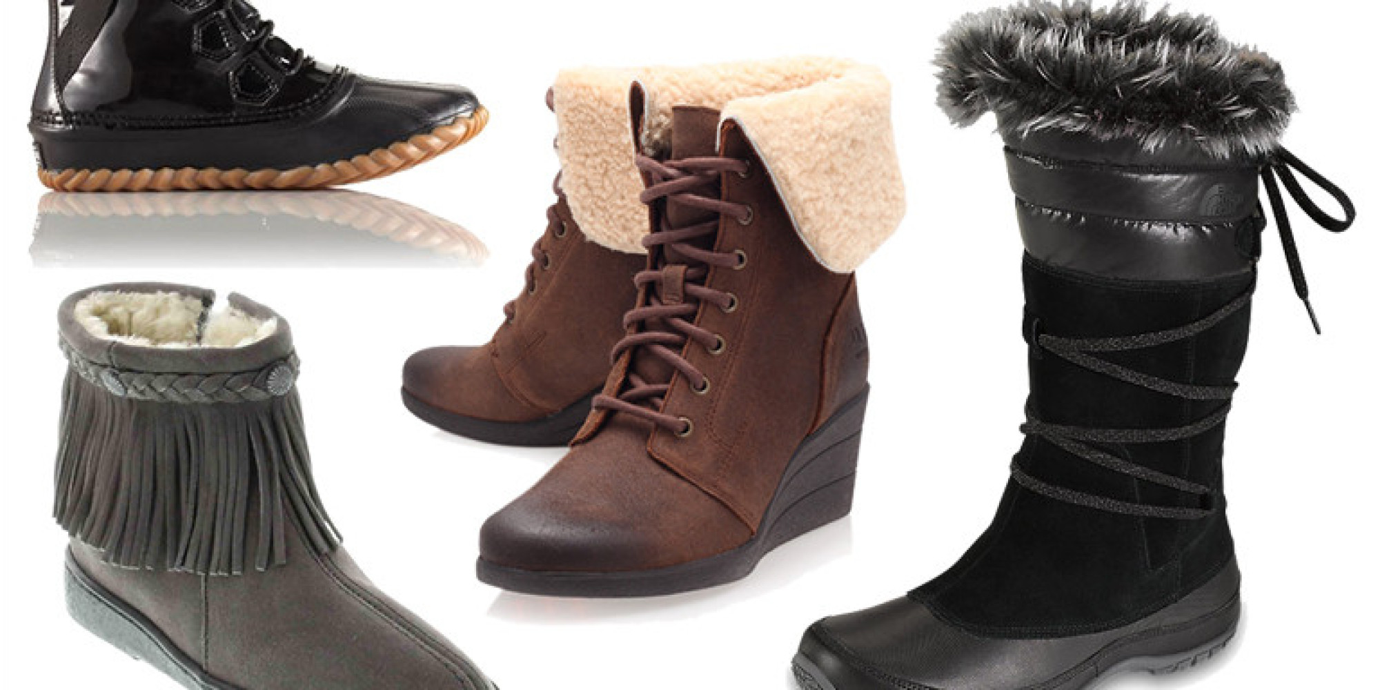 9 Winter Boots To Help You Stomp Through The Snow In Style