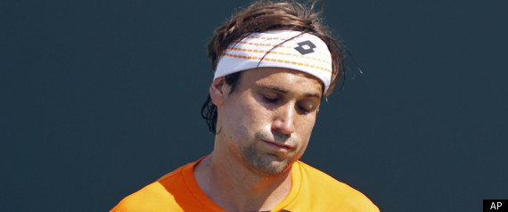 David Ferrer Crying Baby