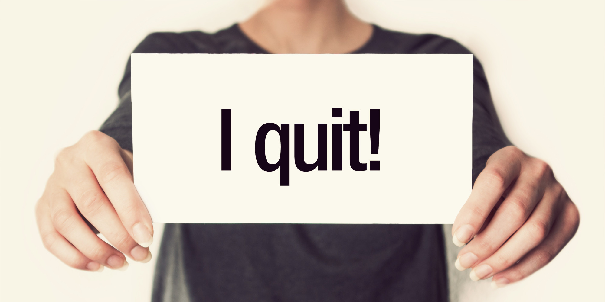 things that make good employees quit the huffington post