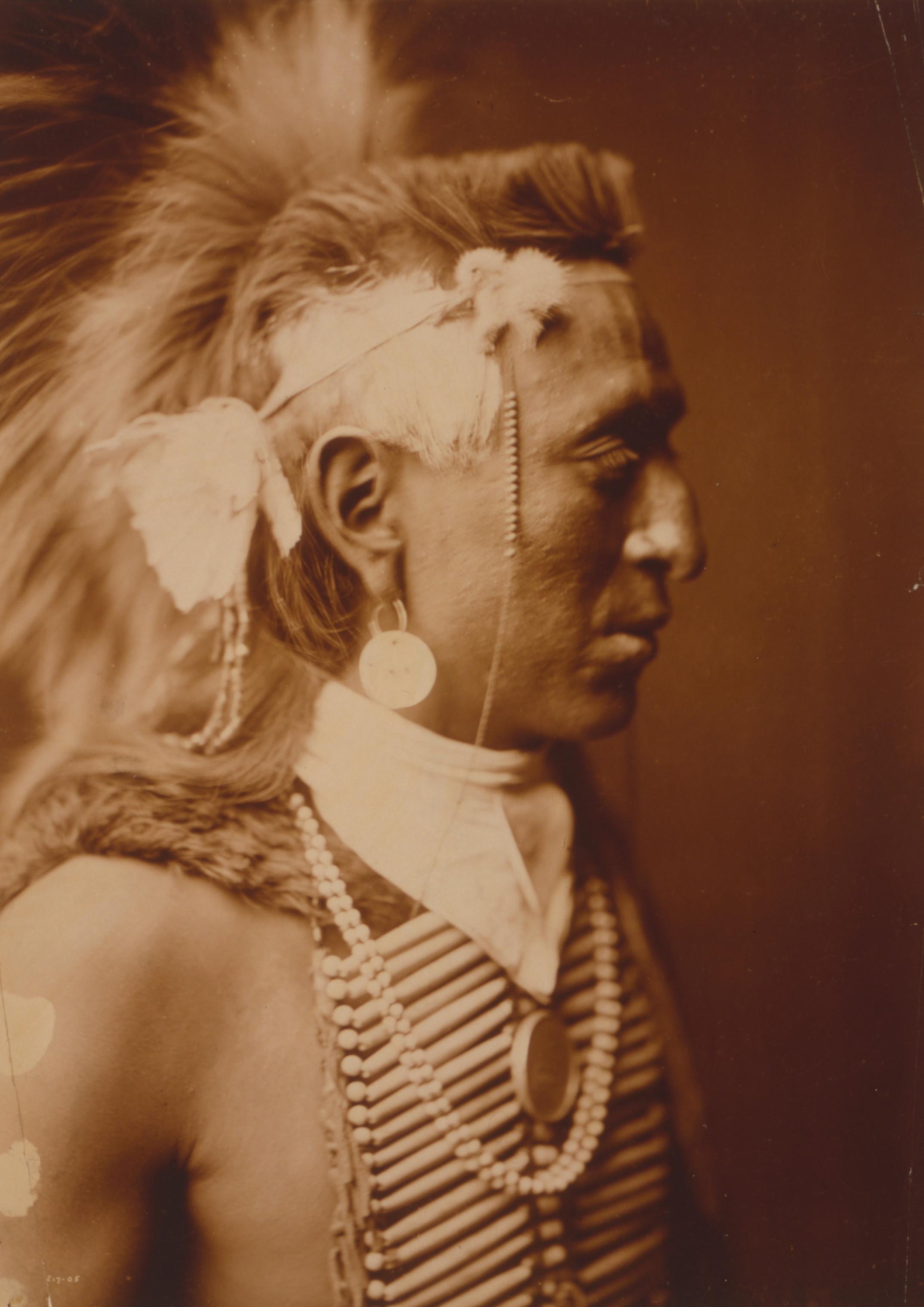 indian american edward curtis