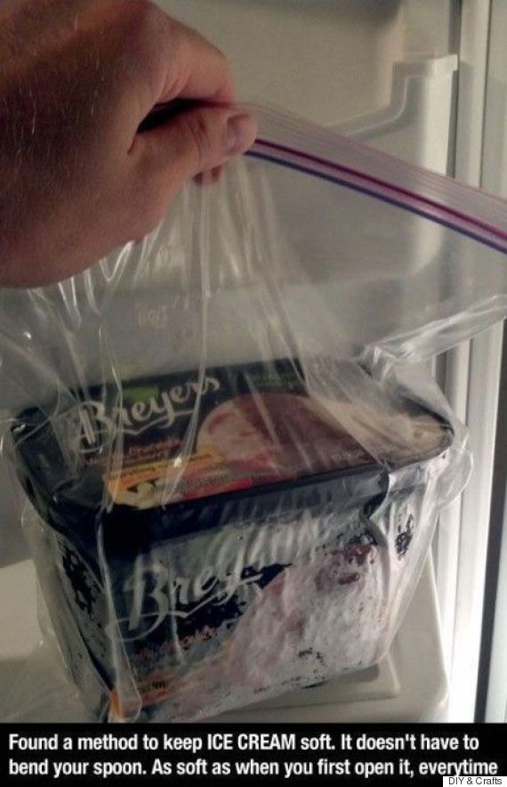 ziploc ice cream