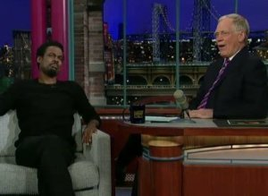Chris Rock Mets Letterman